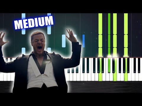 Imagine Dragons - Natural - Piano Tutorial - MEDIUM by PlutaX