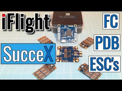 iFlight SucceX F7 TwinG FC + iFlight SucceX PDB + iFlight SucceX 60A ESC\'s