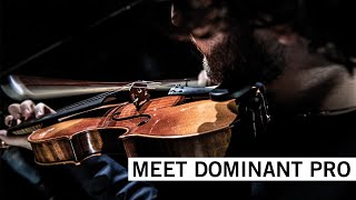Dominant Pro Violin String Set, Removable Ball E