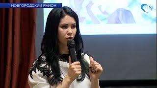 Руководитель новгородского дома моды рассказала воспитанникам Подберезского дома-интерната о дизайне