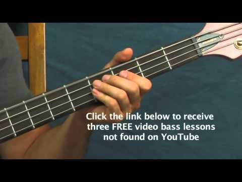 easy bass guitar lesson monster skillet