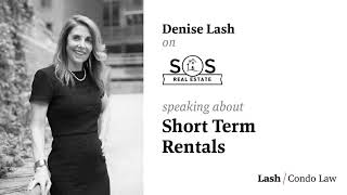 Denise Talks about Short Term Condo Rentals