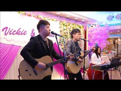 SoulmusicHK-酒樓婚禮與一對新人齊唱冧歌