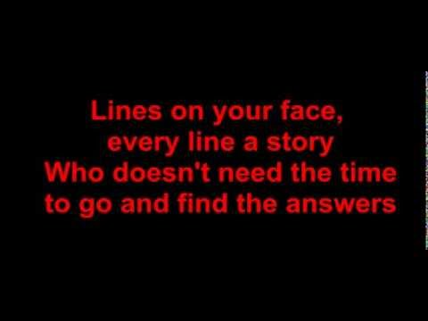 Lyrics - Ten Sharp - lines on your face