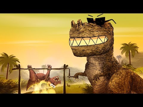 StoryBots | Dinosaur Songs: T-Rex, Velociraptor & more | Learn with music for kids | Netflix Jr