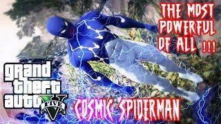 Cosmic Spiderman {Captain Universe} Emissive Eyes ADDON PED V 1 0