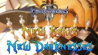 Kingdom Hearts 4  - The New Lights VS New Darknesses (New White & Black Chess Pieces Explained)