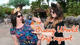 DISNEY WORLD 2019 TRIP REPORT | HOTEL AND FOOD REVIEWS | DISNEY IN DETAIL