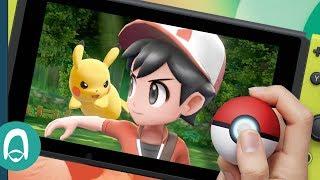 Hands On with Pokémon: Let's Go & The Poké Ball Plus for Nintendo Switch - dooclip.me