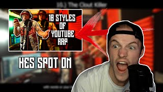 Mayhem REACTS to Crypt | 10 Styles of YouTube Rap