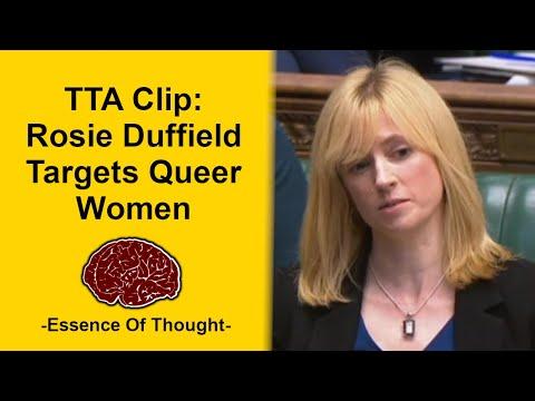Rosie Duffield Endangers Women & Former Staff Members - TTA 002