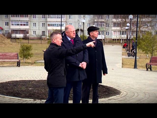 Председатель Заксобрания с рабочим визитом посетил Старицкий район