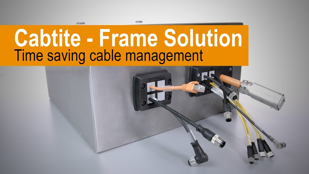 Handling - Cabtite Cable Entry System Frame Solution