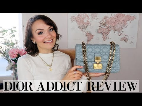DIOR ADDICT HANDBAG REVIEW & WEAR AND TEAR || IS IT WORTH IT?