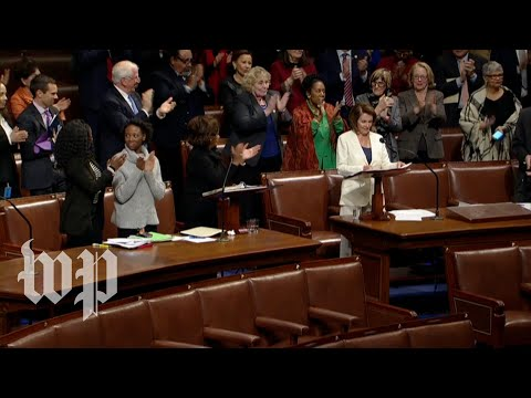 Nancy Pelosi's eight-hour speech, in three minutes