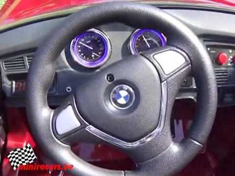 KINDER ACCU AUTO BMW X6