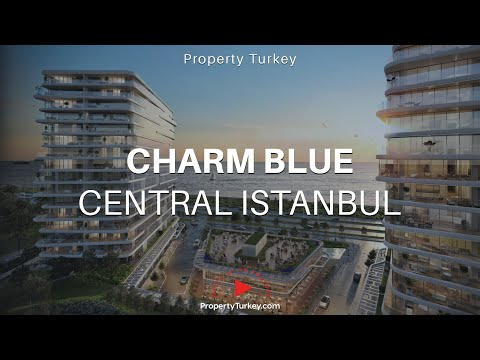 Charm Blue sea view luxury apartments in Zeytinburnu