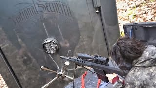 Расстрел бронированного оружейного сейфа за 9000 $ | Разрушительное ранчо | Перевод Zёбры