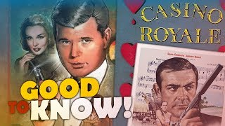 "The Actual First James Bond Film from 1954 - ""CASINO ROYALE"" 