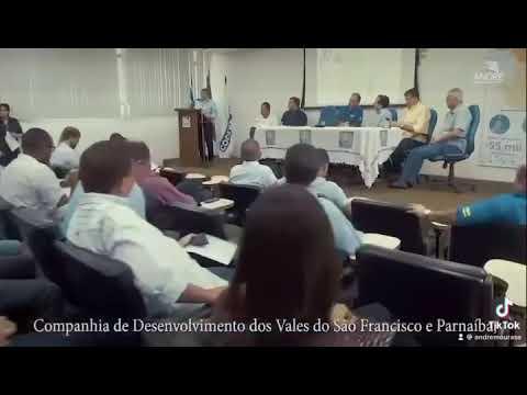 ASSINATURA DA ORDEM DE SERVIÇO PARA ELABORAÇÃO DO PROJETO DO CANAL DE XINGÓ