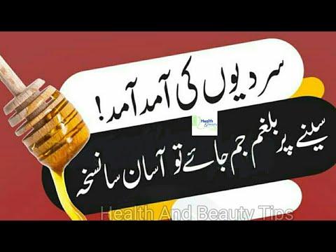 Gale Seene Ki Balgham Ka Ilaj Mucus Treatment In Urdu Nazla