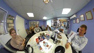 Видео 360°: интервью с Алексеем Чистокиным. Рэмос-Альфа.