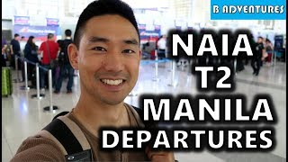 NAIA T2 PAL Improved? Manila Airport Philippines S4, Vlog 97