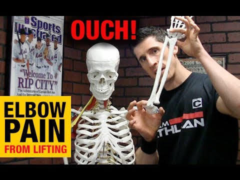 Video Elbow Pain When Working Out (WHY & HOW TO FIX IT!!)
