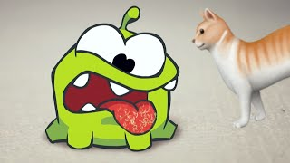 Om Nom And A Cat | Om Nom Stories | Funny Cartoons For Kids | Cut The Rope