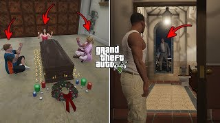 What Happens If You Visit Michael's House at 3:00 AM After He Dies in GTA 5? (Michael's Ghost)
