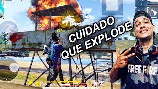 CARREGANDO UM YOUTUBER DE BOSTA! FREE FIRE! EL Gato!