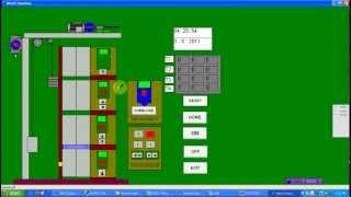 Video Mô phỏng thang máy 4 tầng sử dụng PLC S7 300