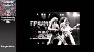 Triumph - Time Goes By - with Lyrics on Screen