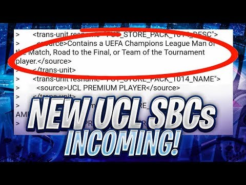 NEW UCL SBC IN THE CODE! FIFA 19 Ultimate Team