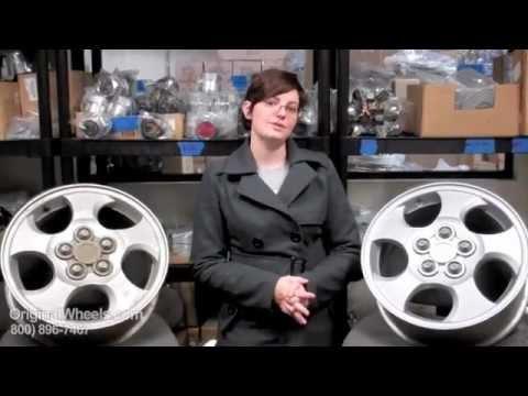 EV1 Rims & EV1 Wheels - Video of Saturn Factory, Original, OEM, stock new & used rim Co.