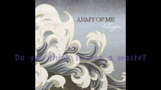 Better Run by Army of Me (Lyrics)