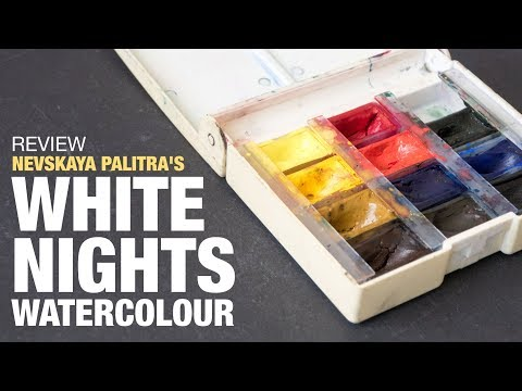 Review: St Petersburg's White Nights 12-pan Watercolour Set