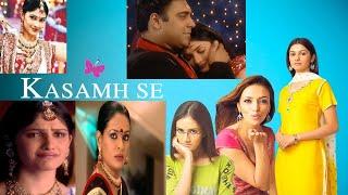Kasamh Se Serial Full Title Song  Muskurake Jivan Chede Pyar Ki Dhun Song  Kasam se Seria
