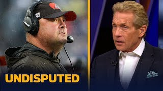 Skip Bayless thinks Freddie Kitchens is clearly the problem in Cleveland | NFL | UNDISPUTED
