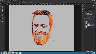 how to make face logo for youtube channel in photoshop - TH-Clip