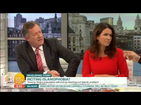 When Piers Morgan met Tommy Robinson - When interviews go wrong