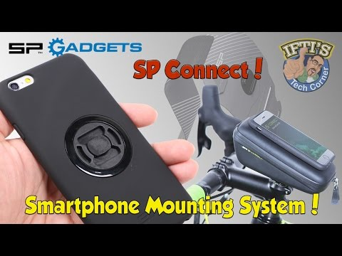 SP Gadgets : SP Connect Mounting System for iPhone - Biking, Running Strap, Suction Cup! REVIEW
