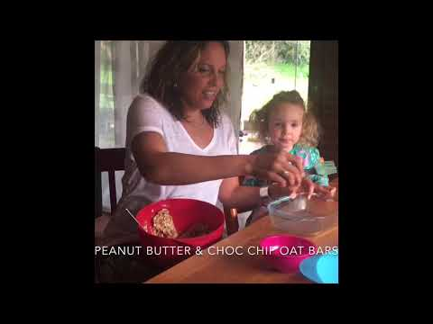 Easy vegan peanut butter oat bars