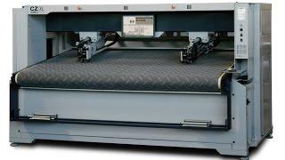 Раскройный комплекс COMELZ CZ/ХL - с двумя режущими головками и шириной рабочего стола 2400 мм