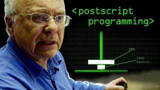 Programming in PostScript - Computerphile