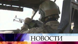 16 бойцов российских Сил специальных операций отразили атаку сотен боевиков вСирии.