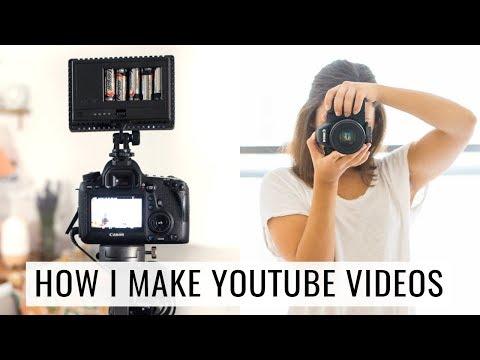 HOW TO MAKE FOOD VIDEOS | my setup & gear