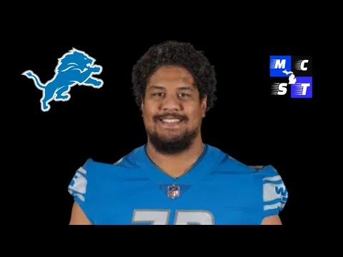 Detroit Lions RT Halapoulivaati Vaitai Didn't Practice Today