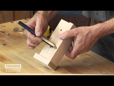 Build A Cabinet Handle Jig To Ensure Precise Handle