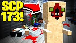 We found SCP 173's SECRET BASE in Minecraft!